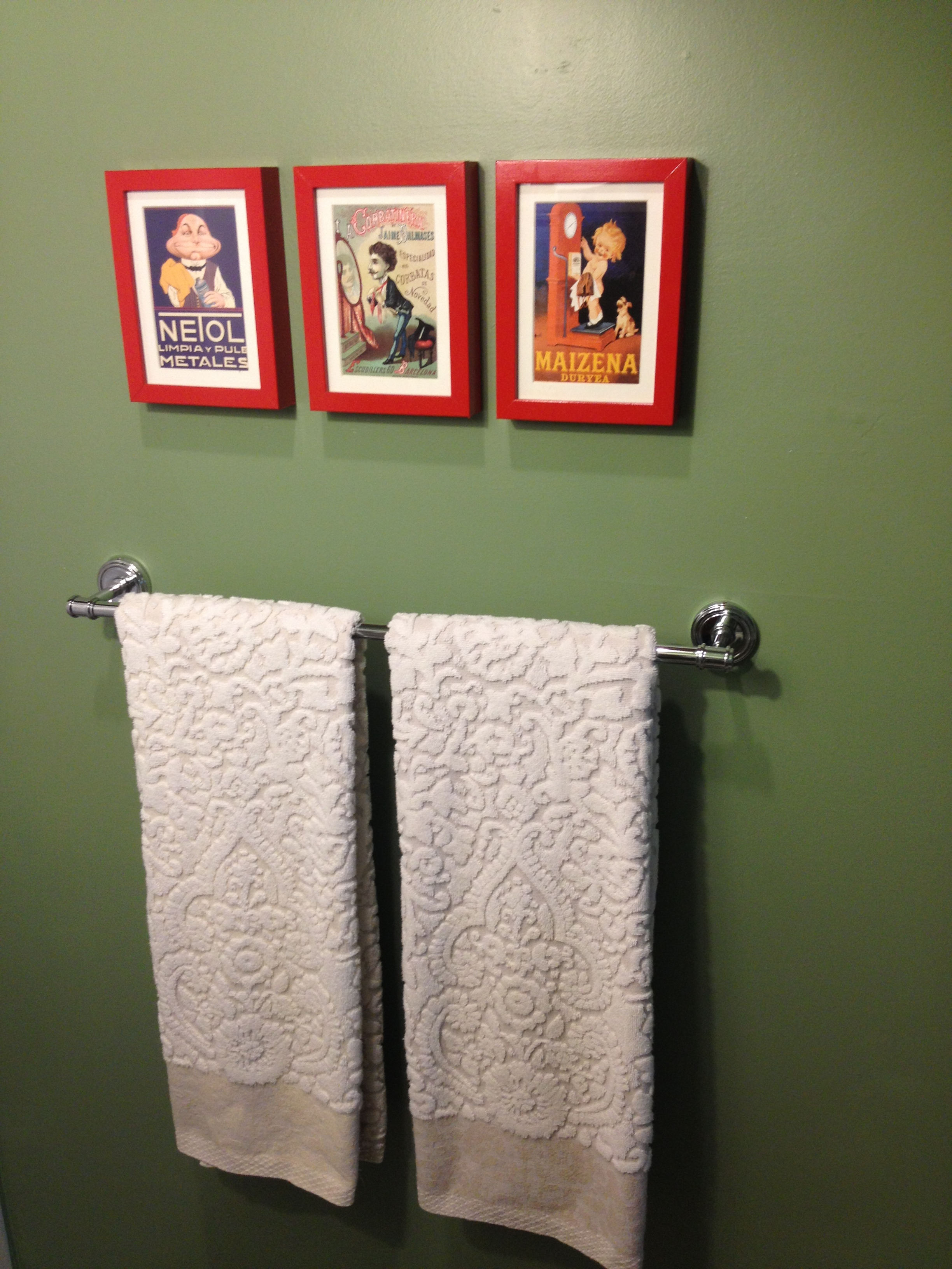 frugally redesigned bathroom stage i